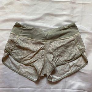 RARE lululemon speed shorts size 4